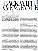 Harper's Bazaar - Sleith back with a vengeance