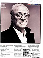 GQ - Sir Michael Caine. Lifetime Archievement